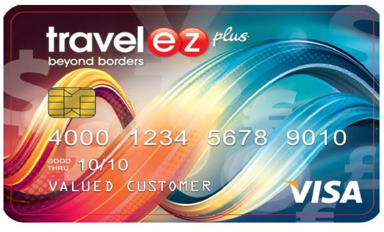 Travelez Plus Visa Prepaid Card